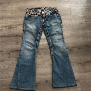 True Religion Joey Super T denim jeans in size 27